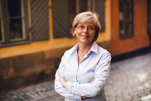 Ingrid Carlberg. Fotograf: Kajsa Göransson