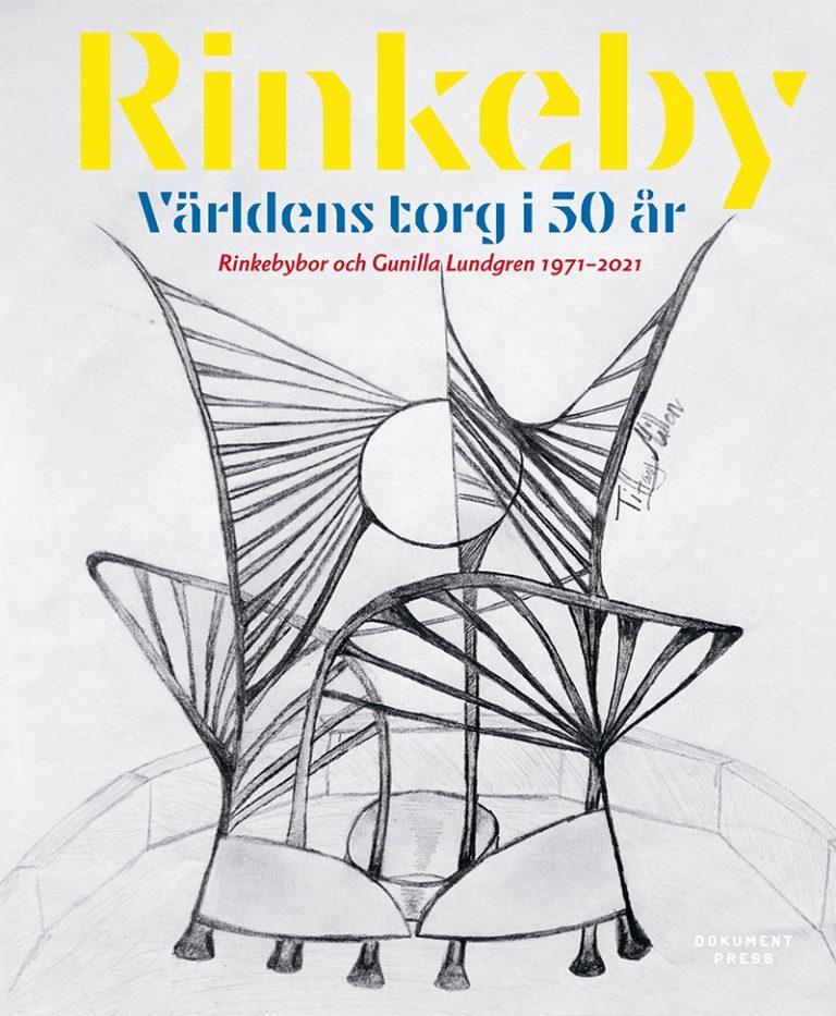 """Omslaget till boken """"Rinkeby – världens torg i 50 år""""."""